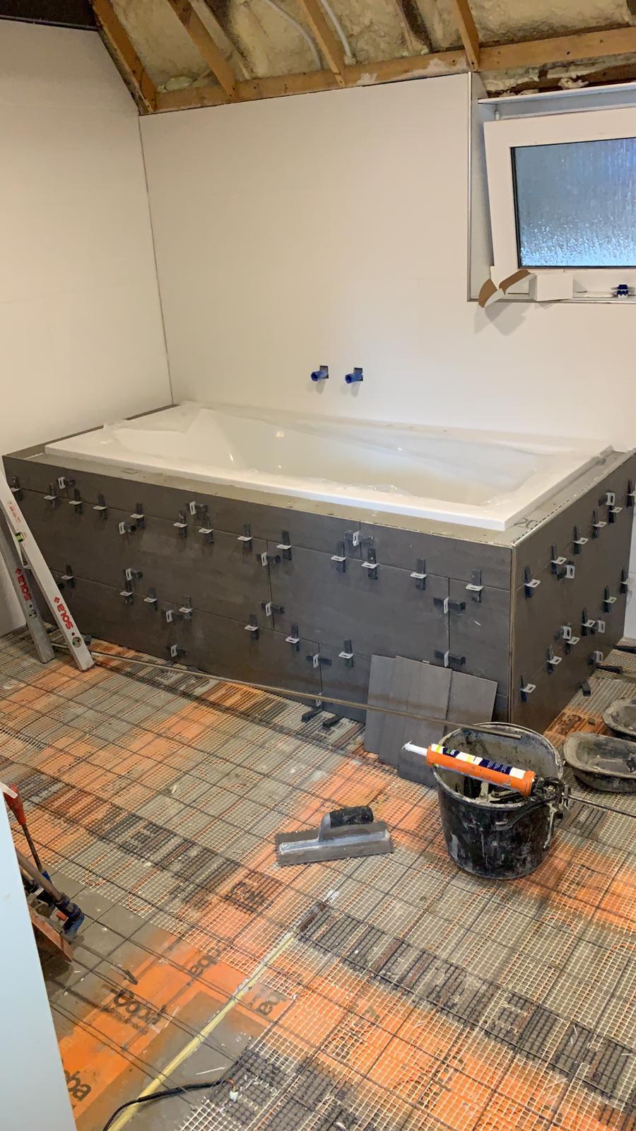 Complete Opbouw Van Een Badkamer In Gieten Tegelzetbedrijf Dijk